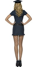 Naughty Cop Halloween Costume - Navy