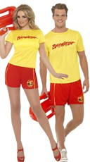 Baywatch Dude Costume - as shown