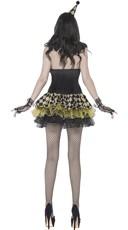 Zombie Circus Clown Costume - Black