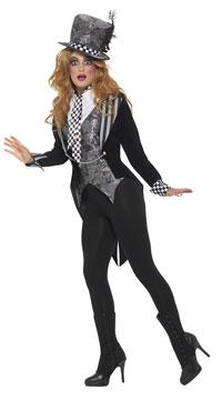 Deluxe Dark Miss Hatter Costume