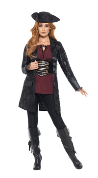 Black Pirate Jacket