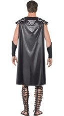 Men's Hunky Gladiator Costume - Black