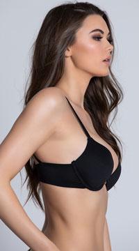 Kate Strappy Bra - Black