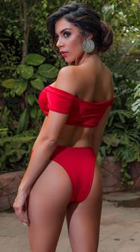 Beach Kitten Bikini - Red