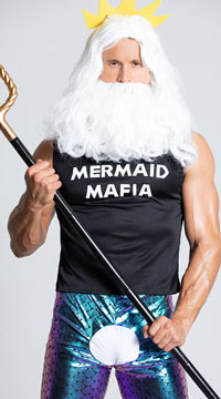 Men's Mermaid Mafia Costume