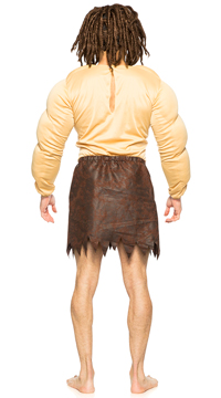 Men's Jungle Warrior Costume