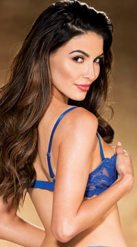 dfd0b4eeaba93 ... Devious Demi Cup Bra - Royal Blue ...