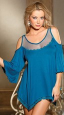 Jersey Knit Chemise - Sapphire