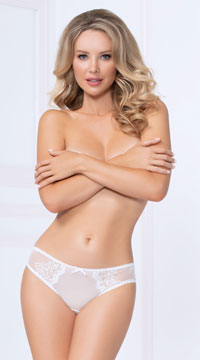 Vibrant Gal Bikini Panty - White
