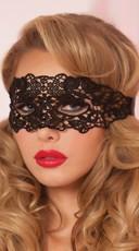 Lace Eye Mask - Black