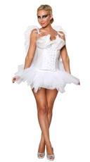 Yandy Sexy Angel Costume - White
