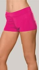 Spandex Shorts - Hot Pink