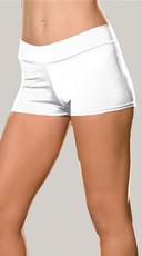 Spandex Shorts - White