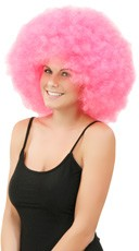 Cotton Candy Pink Jumbo Clown - Hot Pink