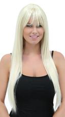 California Blonde Straight Layered Wig - California Blonde