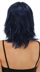 Midnight Blue Rocker Layers Wig - Midnight Blue