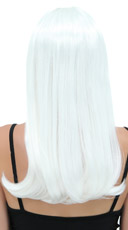 White Sweetheart Wig - Snow