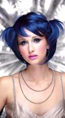 Midnight Blue Short Bob Wig - Midnight Blue