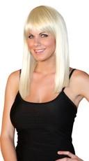 Deluxe Cleo Shoulder Length Wig - Platinum