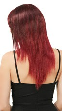 Black and Burgundy Two Toned Wig - Burgundy