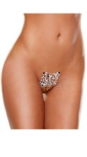 No Strings Attached Panty 3 Pack - Leopard