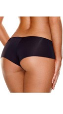 Invisible Booty Short - Black