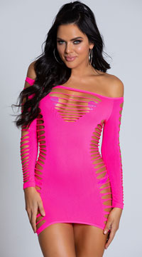 Single Lady Mini Dress - as shown