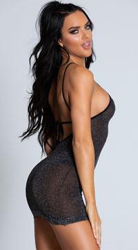 VIP Mini Dress - Black