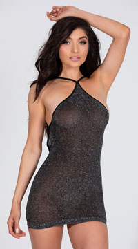 VIP Mini Dress - Black