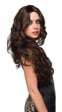 Jennifer Brown Tousled Curly Wig - Brown