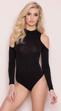 Yandy High Stakes Bodysuit - Black