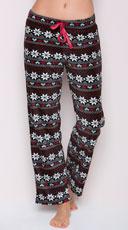 Yandy Snowflake Fleece Pajama Pant