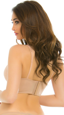 Yandy Instant Attraction Nude Demi Bra - Nude