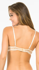 Yandy Little Thrills Beige Bra - Beige
