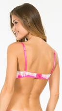 Yandy My Good Side Pink Tie Dye Bra - Multi