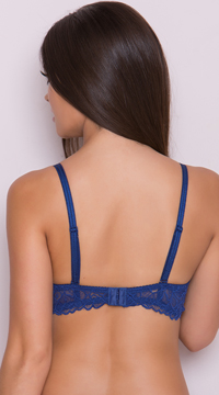 Yandy Flower Bomb Navy Bra - Navy