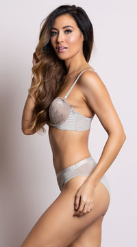 Yandy Sleek and Chic Nude Cheeky Panty - Nude