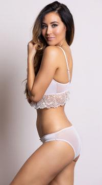 Yandy's The Malaika Beige Bikini Panty - Beige