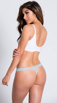 Yandy Layers To It Blue Thong - Blue