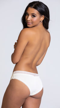 Yandy Chill Out Ivory Hipster Panty - Ivory