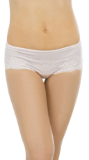 Yandy Retro Fresh Mauve Boyshort - Mauve