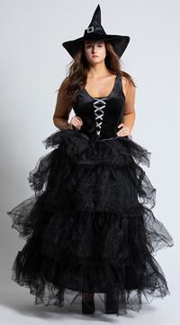 Plus Size Spellbound Witch Costume