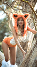 Yandy Fox Halloween Costume - Orange