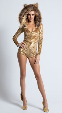 Yandy Sexy Lion Costume - Brown