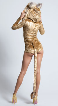 Yandy Sexy Lion Costume - Brown