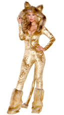 Yandy Deluxe Lion Costume - Brown
