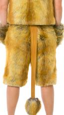 Men's Lion Shorts - Brown