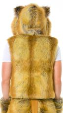 Yandy Men's Lion Vest - Brown