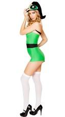 Green Anime Girl Romper - Green