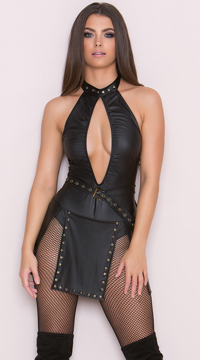 Yandy Sexy Northern Queen Costume - Black